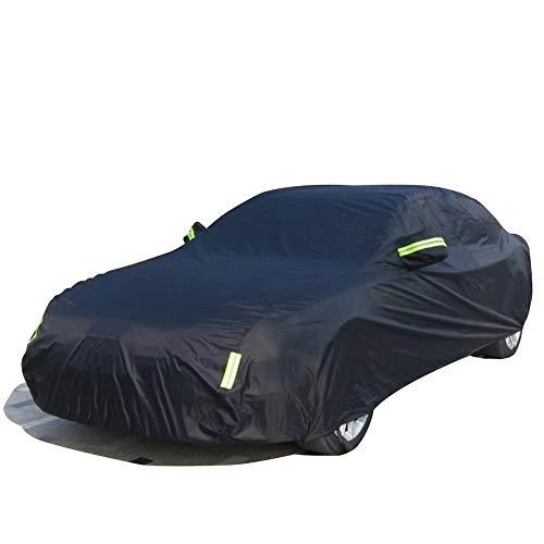 NUANXIN Autoabdeckung Winddicht/Kratzfest Allwetterschutz Kompatibel mit GM Chevrolet Malibu, Captiva, Segel, LOVA, Aveo, Cruze, Epica, Camaro,Black,Cruze