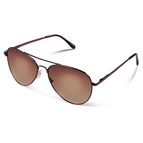 Duduma Prämie Pilotenbrille Flieger Sonnenbrille UV400 Schutz Optimal Entwurf Herren und Frauen Sonnenbrillen