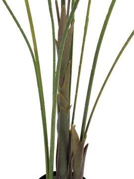 artplants – Deko Großblatt-Arecapalme, 185 cm, wetterfest – Kunstpalme/Künstliche Areca Palme