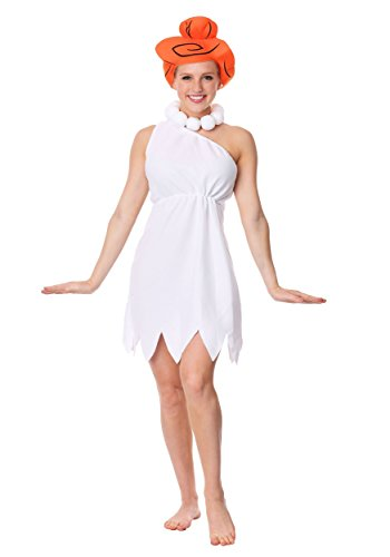 (Wilma Flintstone Adult Fancy dress costume Small)