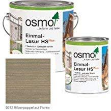 OSMO Einmal-Lasur HS Plus 2,5 Liter Silberpappel 9212
