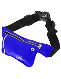 ELECTROPRIME Unisex Ultrathin Outdoor Running Waist Bag Sports Pockets Bag -Sapphire Blue - B075RHLGL2