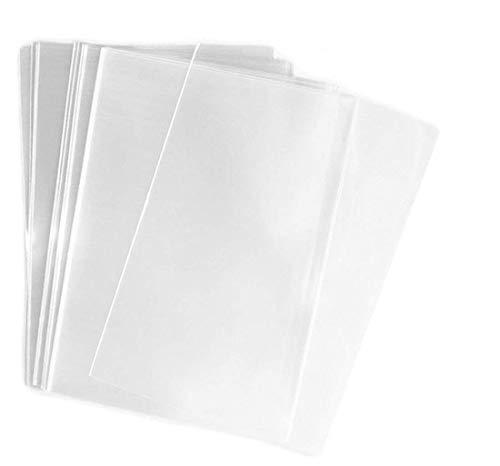 100 unidades de 20 x 30 cm de celofán transparente plano/celofán para envolver regalos, regalos, fiestas, bodas, aperitivos, cocinas, cañas para el hogar o la cocina