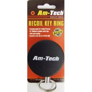 black-recoil-retractable-key-chain-ring-with-belt-clip
