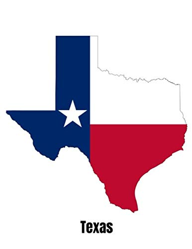 Texas: Diary For Dreamers, Notebook To Record Dreams, Guided Dream Journal Log Book For Texas Lovers And Lone Star State Enthusiasts (8.5 x 11; 120 Pages)