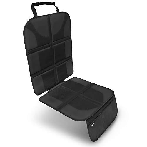 VIATURA Kindersitzunterlage | ISOFIX geeignet | Premium Autositzauflage zum Schutz ihrer Autositze | Sitzschoner mit der besten Polsterung | SONDERANGEBOT