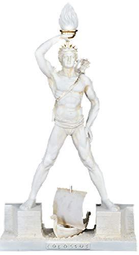 Deko-König Koloss Statue mit Leuchte (weiß) 0041 108 (Koloss-statue)
