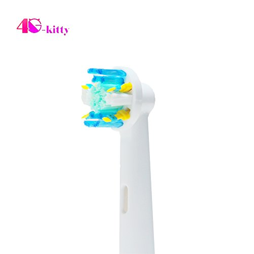 12 Stück (3 x 4) Aufsteckbürsten Recovering Kit hofoo® für Zahnbürste Oral B Floss Action (eb25 a). Komplett kompatibel mit den Modellen von Oral-B: Vitality, Professional Care, Triumph, Advance Power, TriZone und Smart Series