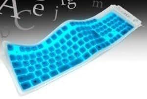 Bendi Light Up Keyboard - Blue