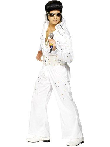 ey Kostüm Elviskostüm Gr. 48/50 (M), 52/54 (L), Größe:M (Elvis Jumpsuit)