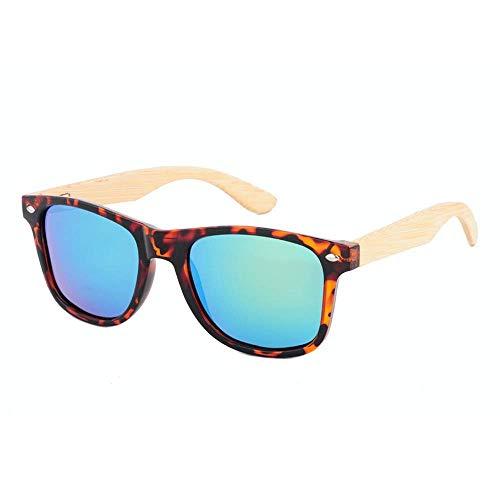 Preisvergleich Produktbild MXHSX Classic Traveller Handgefertigte Sonnenbrille aus Bambusholz Universal Sonnenbrille für Herren und Damen Sportbrillen