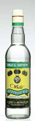 Wray & Nephew Overproof Rum -