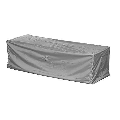 Loungesofa Abdeckung / Schutzhülle für Gartensofa - Premium (220 x 90 x 80 cm) wasserdichte Abdeckplane für 3er Gartenmöbel / Oxford 600D Polyestergewebe / mit Ventilationsöffnungen