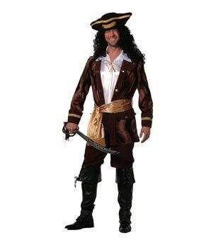 Wilbers Federbein Herren EU 54/UK und US 44Pirat der Wellen Kostüm (Piraten-mädchen-kostüm Uk)