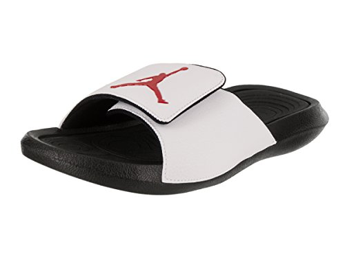 Nike Mens Hydro 6 Synthetic Sandals Blanc Noir