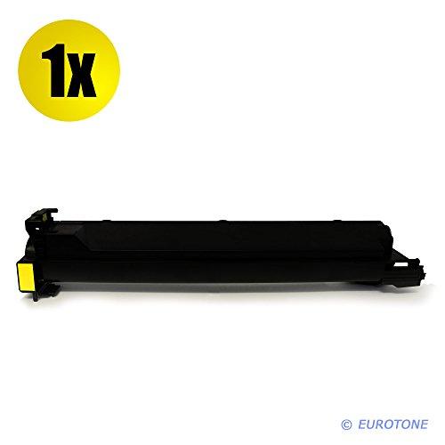 Eurotone Toner mit 50% mehr Leistung für Bizhub C203 C200 C253 C353 ersetzen Konica Minolta gelbe TN-213 A0D7252 Y Patrone (Konica Minolta C200)