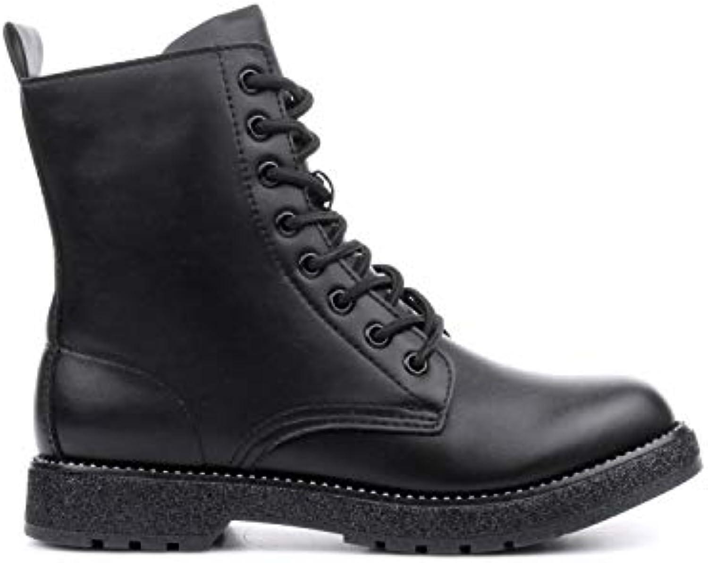 CAF Noir amphibies FA930 Chaussures Noires Femmes Chaussures amphibies Noir 329e6f