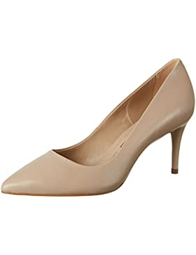 Buffalo London Damen ZS 6063-15 Nappa Pumps, Beige (Nude 01), 39 EU