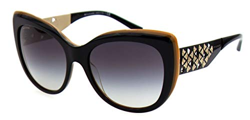 Bulgari Damen 0Bv8198B 54408G 57 Sonnenbrille, Schwarz (Black/Grey),