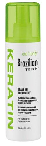 Un 'N Seulement brésilienne Tech kératine Laissez-In Treatment (pack de 2)