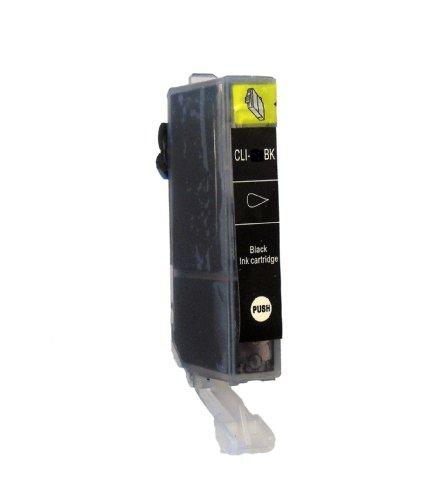 1 DRUCKERPATRONE MIT CHIP für Canon iP4850 iP4950 MG4150 MG5120 MG5150 MG5220 MG5250 MG5340 MG5350 MG6120 MG 6150 MG6250 MG8120 MG8150 MG8240 MX882 MX884 MX885 Pixma Serie mit Chip ersetzt CLI-526 Black