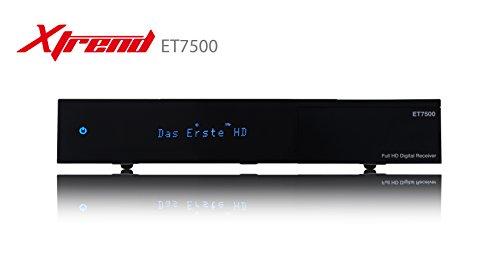 Xtrend ET 7500 HD 1x DVB-S2 Linux Full HD 1080p HbbTV Sat Receiver USB (importado)