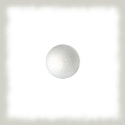 12 boules polystyrène 30mm de diamètre