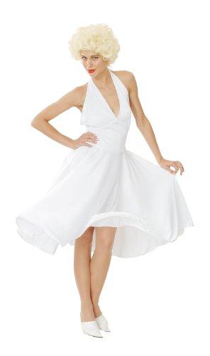 Generique - Marilyn Kostüm für Damen weiß Einheitsgröße (40)