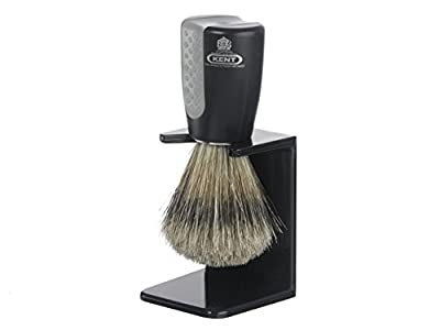 Kent's Wet Is Best Bristle Shaving Brush and Stand