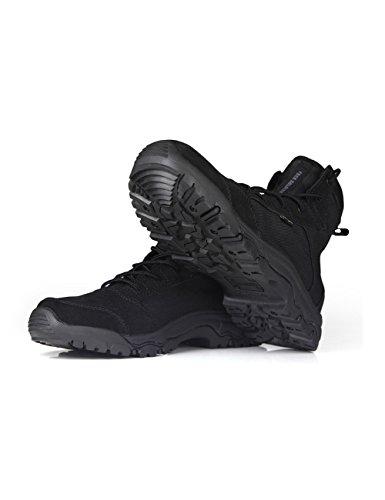 FREE SOLDIER D'extérieur sans hommes Bottes tactique tempête Ultra Léger Respirant Durable Chaussure Noir