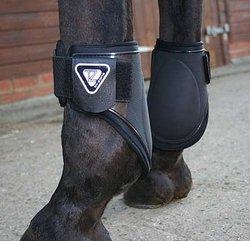Tri-Zone Fetlock Boot - Black