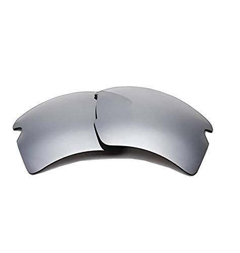 Polarisierte Ersatzgläser für Oakley OO9188 Flak 2.0 (Silver)