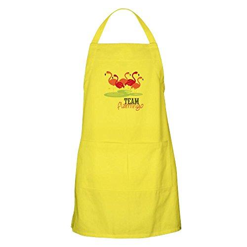 CafePress–Team Flamingo Schürze–Küche Schürze mit Taschen, Grillen Schürze, Backen Schürze (Wilde Frauen In Der Küche)