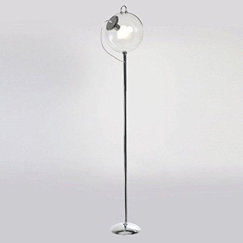 MILUCE Nórdico Moderno Moderno Balón De Cristal Lámpara De Pie De Hierro Arte Personalidad Creativa Salón Dormitorio Lámpara De Pie