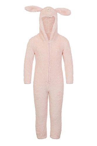 Lounge able, donna lusso 3d animale tutto in un jumpsuit costume intero sparkle rabbit 7 anni