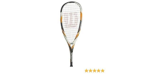 White//Yellow//Grey 27 Inch Wilson H145 Squash Racquet