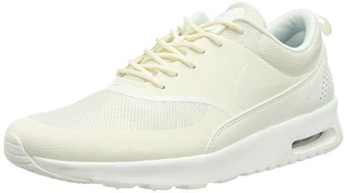 Nike Damen Air Max Thea Sneaker, Beige (Pale Ivory/Sail-Aluminum 112), 41 EU (Nike Air Max Niedrigen Preis)