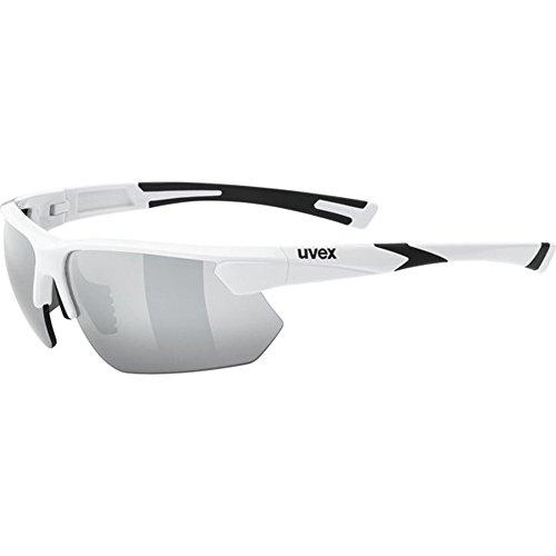 Uvex Unisex Erwachsene Sportstyle 221 Sportbrille, White, One Size