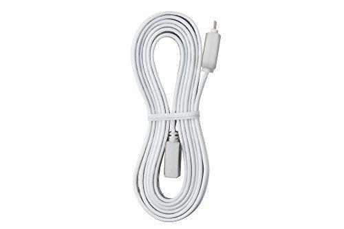 Paulmann 70204 YourLED Verbindungskabel für LED Strip 100 cm Stripe Zubehör Weiß Überbrückungs-Kabel Kunststoff einfaches Stecksystem