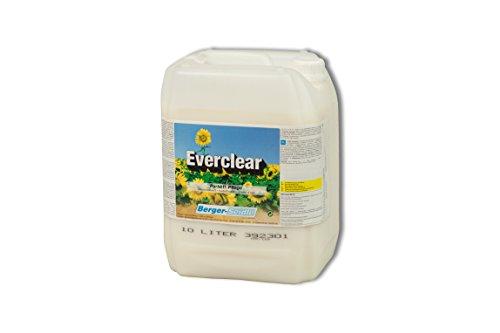 Berger-Seidle Everclear L93 Parkettpflegemittel, wasserbasiert, glänzend, farblos, Parkettpflegemittel für versiegelte, lackierte Parkettböden (10 Liter)