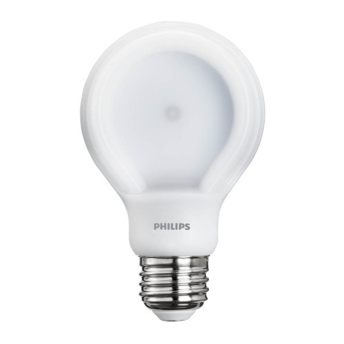 Philips 433201 8-watt Slimstyle A19 ampoule LED Blanc doux, à intensité variable, 80, 1 7 watts 120 volts