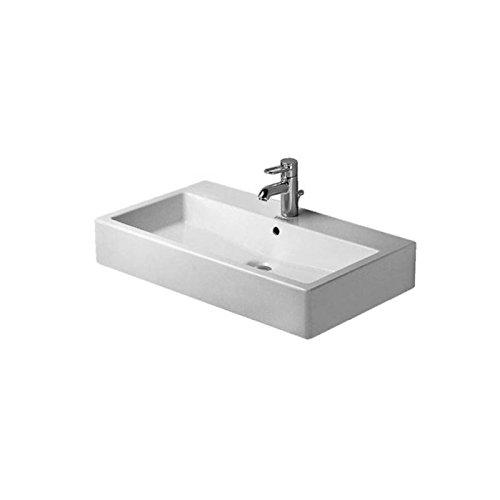 Duravit Vero Waschbecken (Duravit Waschbecken Vero-Vero 80cm Arbeitsplatte Design Weiß)