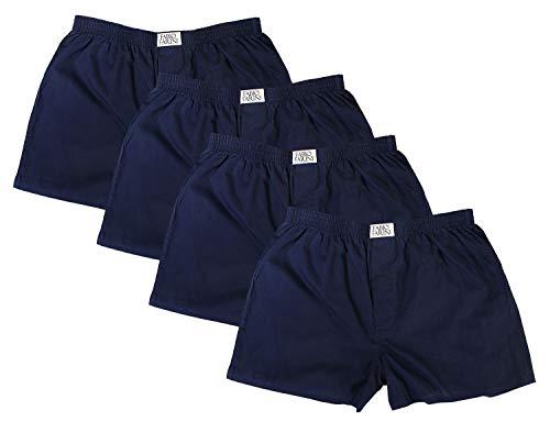 Fabio Farini 4 er Boxershorts Webboxer Herren Boxer Shorts Unterhose Unterwäsche Baumwolle, Größe:M, Herren Boxershorts:Set 15