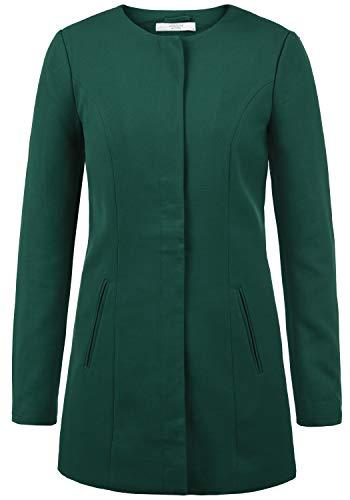 ONLY Maggie Damen Mantel Blazermantel Lange Übergangsjacke, Größe:L, Farbe:Ponderrose Pine -