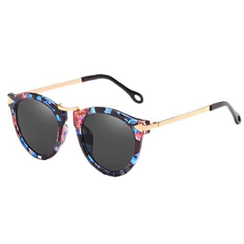 rille Katzenaugen-Sonnenbrille Pfeil Sonnenbrillen Vintage-Schatten Für Die Frau ()