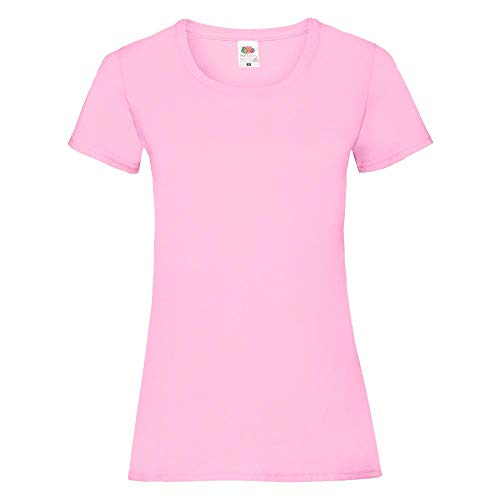 Fruit of the Loom - Lady-Fit Valueweight T - Modell 2013 M,Light Pink