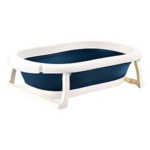 Moonvvin Newborn Baby Folding Bath Tub Baby Swim Tubs Body Washing Portable Children Non-Slip Safe Kid Bathtub