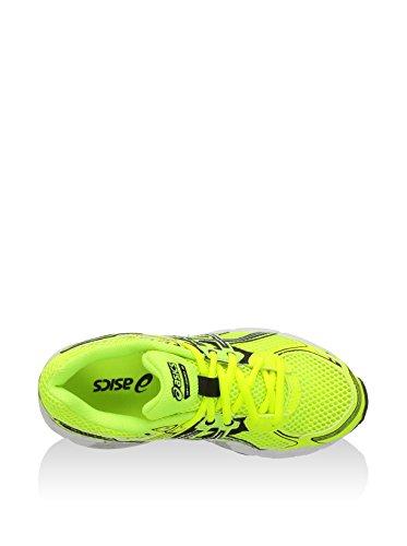 Asics  Running Gt-1000 2 Gs, Chaussures de course pour homme Jaune/noir