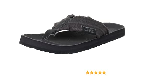 7df80f133fe99 O Neill Men s Chad Antracite Flip-flop 204560 7 UK