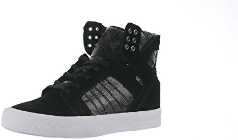 Supra Skytop Wedge, scarpe da ginnastica donna Nero nero bianco   Design affascinante    Maschio/Ragazze Scarpa